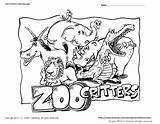 Zoo Coloring Pages Animals Animal Pdf Printable Critters Snapshot Print Woody Craft Zoos sketch template