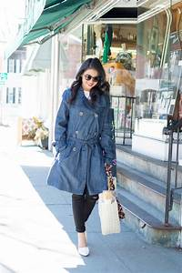 Denim Trench Coat - Love Playing Dressup