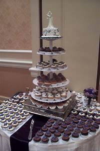 Elegant Wedding Cupcake Display Trifles