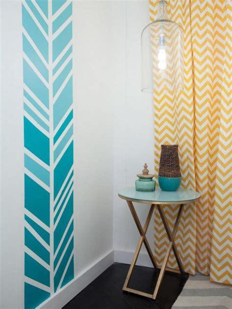 Muster Wand Streichen by Wand Streichen Muster Ideen Blau Ombre Farbverlauf