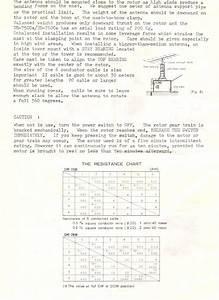 Daiwa Dr 7500 7600 Instructions Rotator User Manual