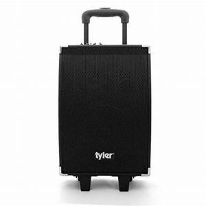 Tyler Tailgate Portable Wireless Bluetooth Speaker Pa System Tws404