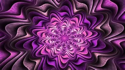 Purple Fractal 4k Desktop Wallpapers Abstract Flower