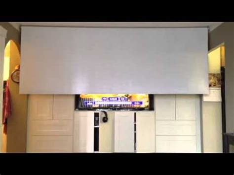 projection screen motor  remote control diy