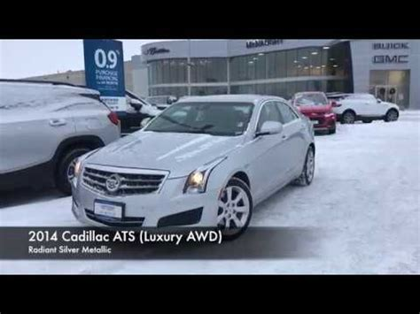 Cadillac Ats Awd Review by 2014 Cadillac Ats Luxury Awd Review