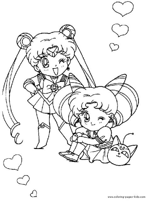 images  sailor moon coloring pages