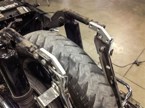 Bagger Fender Install With Stock Bad