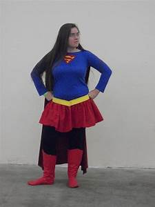Supergirl Costume | Do-It-Yourself Fashion