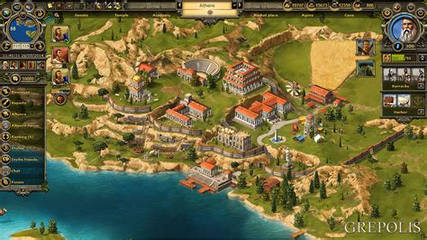 grepolis  strategy game  ancient greece choose