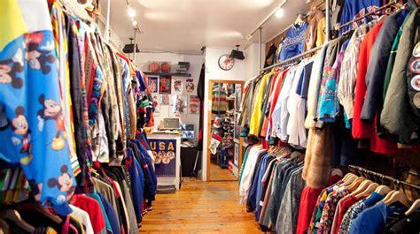 vintage stores  thrift shops   york