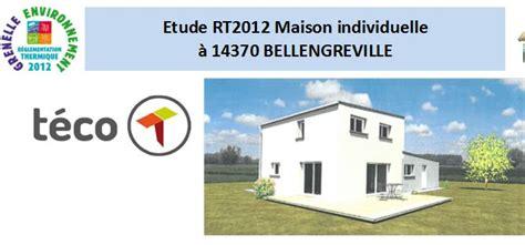 etude rt2012 224 bellengreville 14370 avenir thermique