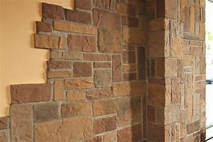 Wandgestaltung Mit Steinen : die wandverblender der linie murok rustic von de ryck by weser sind durch ihre form und ~ Markanthonyermac.com Haus und Dekorationen