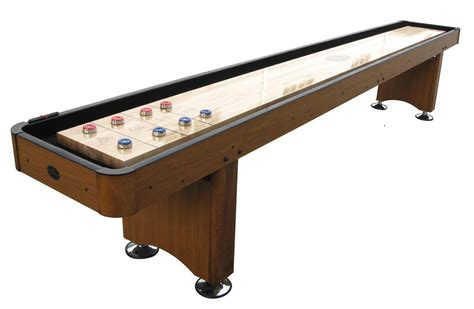 shuffleboard table for sale 14 39 honey oak playcraft woodbridge shuffleboard table