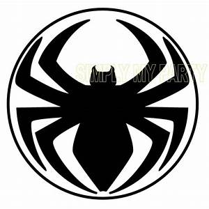 IRON ON TRANSFER OR STICKER - SPIDERMAN LOGO - SPIDER MAN ...