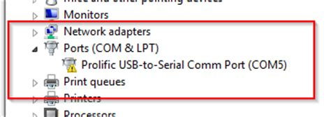 prolific usb to serial comm port prolific usb to serial fix official solution to code 10 error car obd diagnostics ecu