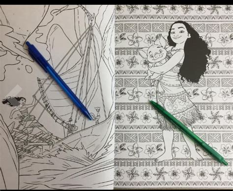 advanced coloring books of coloring moana 100 coloring pages