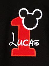 Black Mickey Mouse Birthday Shirt Or Onesie, Custom, Any Age