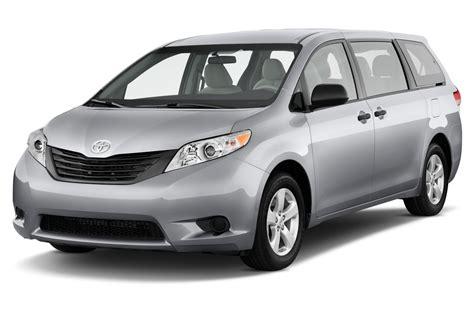 sienna toyota minivan passenger motortrend l4 base front