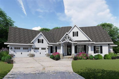 Exceptional Craftsman House Plan