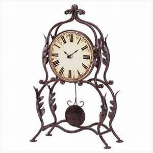 European Decor Gifts - TABLE PENDULUM CLOCK