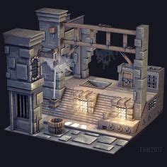 voxel images  pinterest    poly