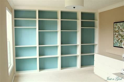 Painted Billy Bookcase by Diy Billy Bookcase