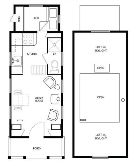 small floor plans meet shafer and his tiny house plans eye on design by dan gregory