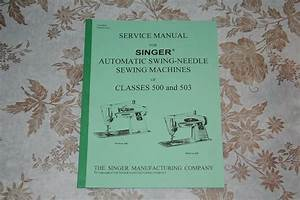 Professional Full Edition Service Manual Singer 500 500a