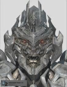 Transformers Megatron Face