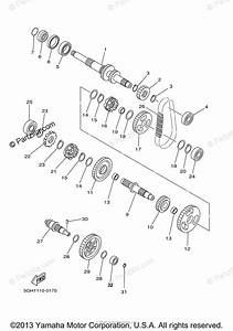 Yamaha Atv 2000 Oem Parts Diagram For Transmission