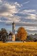St. Coloman Church, Schwangau, Bavaria, Germany | Germany ...
