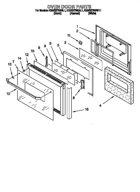 Kitchenaid Parts Ri by Kitchenaid Superba Kitchenaid Superba Wall Oven Parts