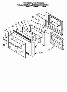 Kitchenaid Superba Oven Parts Diagram