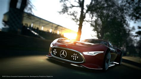 Mercedes Benz Amg Vision Gt Will Be An Alternative Version Of The Virtual Sports Car In Gran