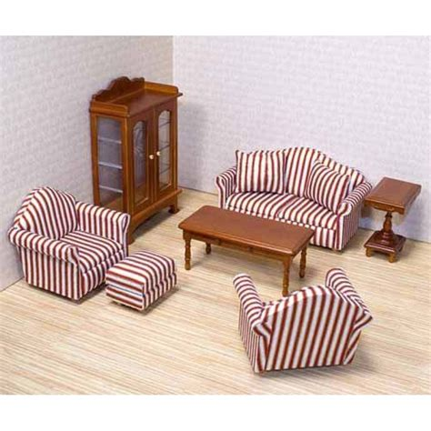 Dollhouse Furniture Set by Doug Deluxe Doll House Furniture Living Room Set