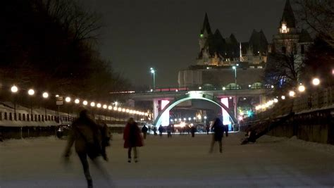 ice sculptures and skating at winterlude in ottawa