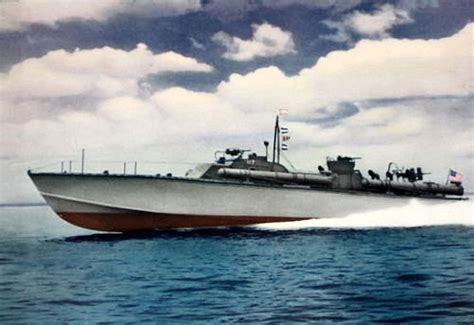 Pt Boat Color Schemes by Ships 2 Colors