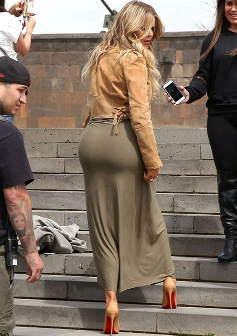 Khloe Kardashian - Out in Yerevan, Armenia, April 2015 ...