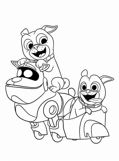 Puppy Pals Dog Colouring Arf Draw