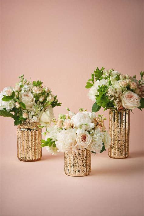 ideas  gold vase centerpieces  pinterest