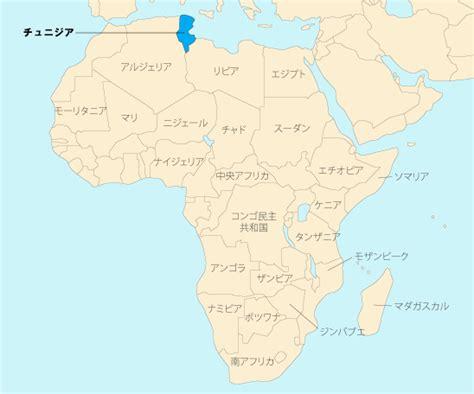 JICS:チュニジアの地図