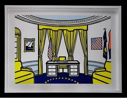 Oval Office Clipart Lichtenstein Roy Clipground Cliparts
