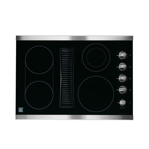 Induction Cooktop Sears by Kenmore Elite Electric Cooktop 30 In 44113 Sears