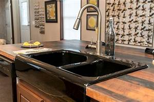 black sinkkitchen faucet black finish all about kitchen With best brand of paint for kitchen cabinets with address sticker printer