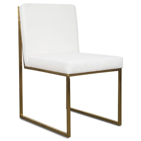 white linen dining chairs goldfinger dining chair white linen dining chairs modshop 1432