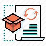 Order Processing Icon Process Shopping Purchase Icons