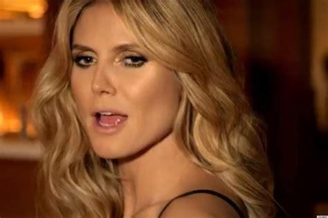 Heidi Klum Hamburger Carl Commercial Got More