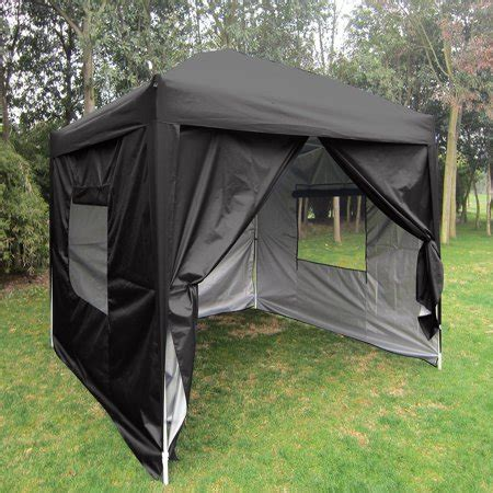 quictent privacy  mesh curtain ez pop  canopy party tent gazebo  waterproof  side