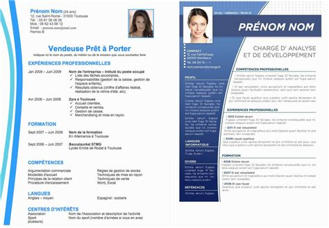 Cv Exemple Gratuit by 15 Intelligent Exemple Cv Gratuit Ok Pubic