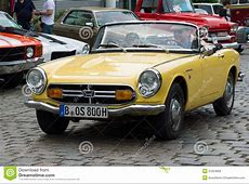 Sports car Honda S800 editorial stock photo Image of auto